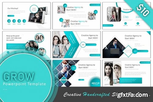 CreativeMarket 10 in 1 Powerpoint Bundle 90% off 2523531