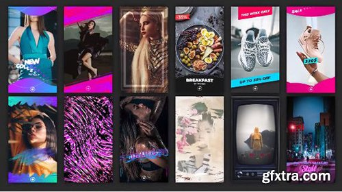 Instagram Stories Pack - After Effects 101809