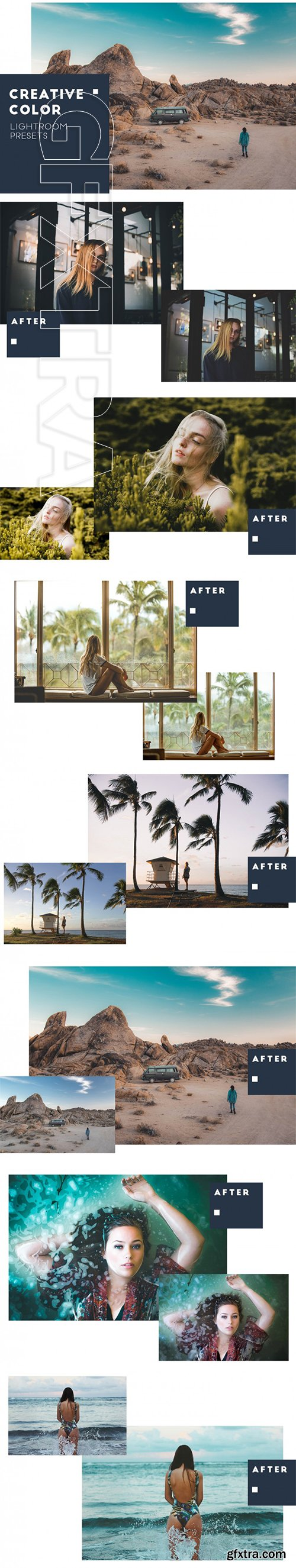 Creative color Lightroom presets