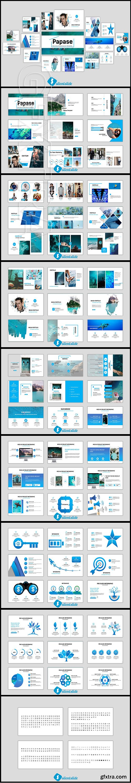 CreativeMarket - Papase Powerpoint Template 2848678