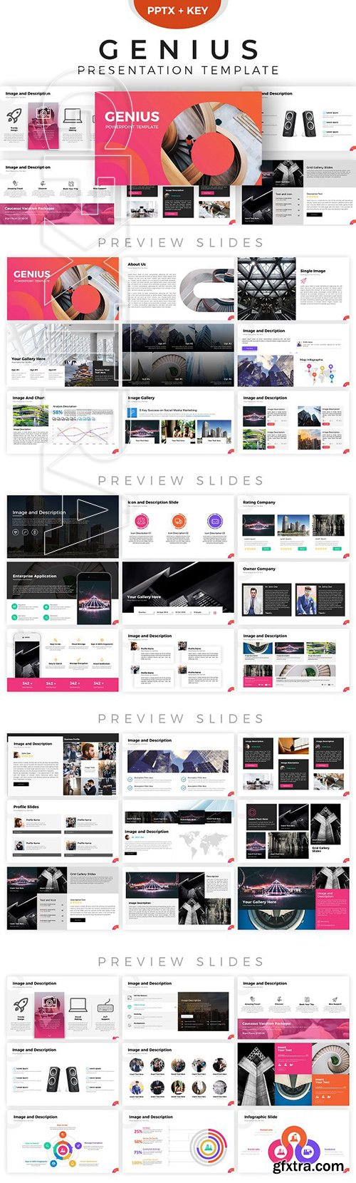 CreativeMarket - Genius Presentation Template 2844129