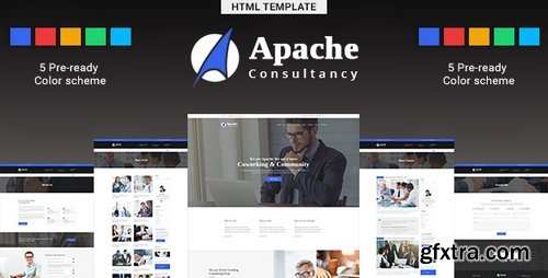 ThemeForest - Apache v1.0 - Business-Consulting HTML Template - 22341556