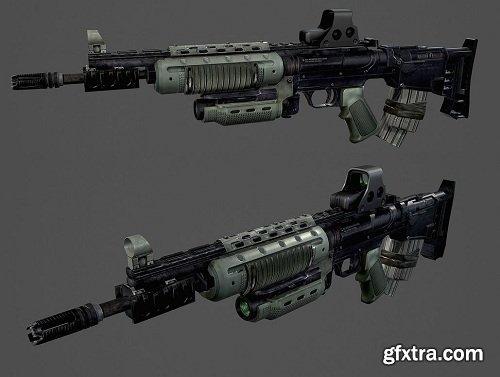 ISA M82G 3D Model