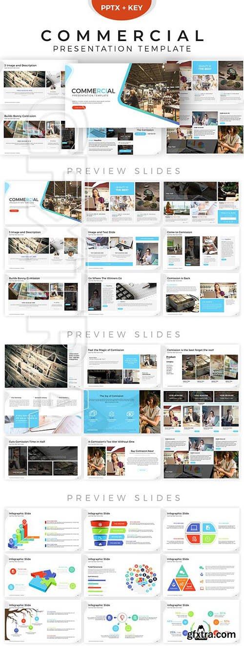 CreativeMarket - Commercial Presentation Template 2846958