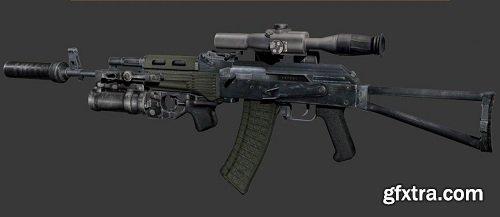 АКС-74 3D model