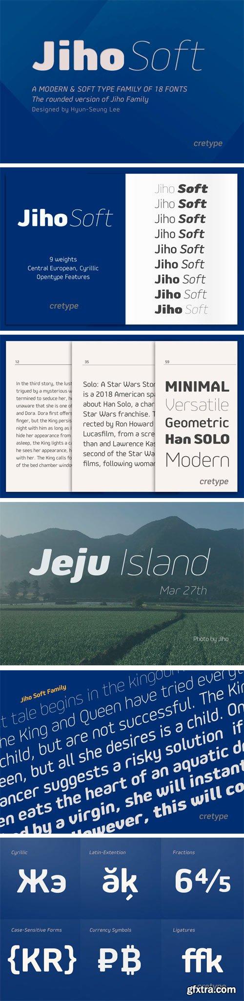 Jiho Soft Font Family
