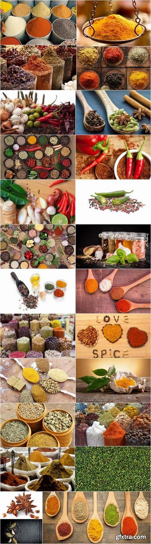 Spices garlic pepper seasoning sharpness 25 HQ Jpeg