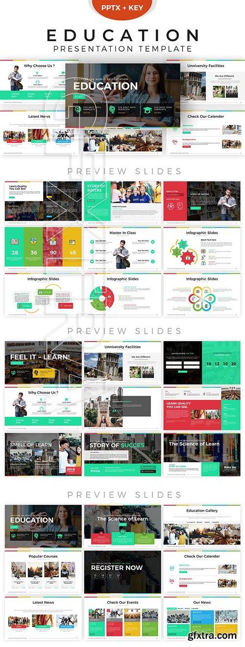 CreativeMarket - Education Presentation Template 2846917