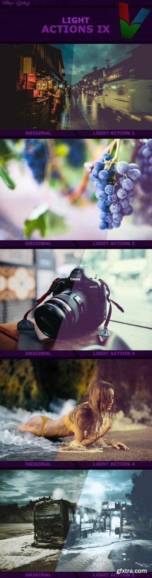 Graphicriver - Light Actions IX 18007843