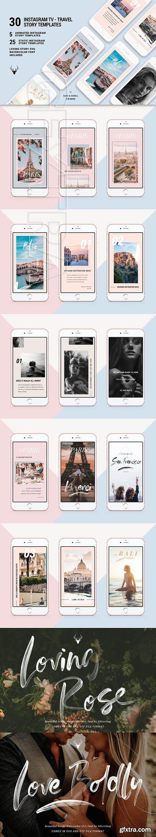 CreativeMarket - IGTV - ANIMATED Instagram Stories 2848300