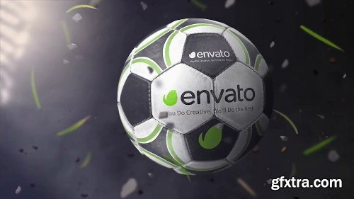 Videohive Soccer Ball Logo Reveals 20715311