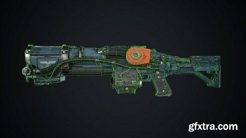 Laserkraftwerk 3D Model