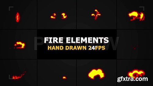 Fire FX Elements Pack 97481