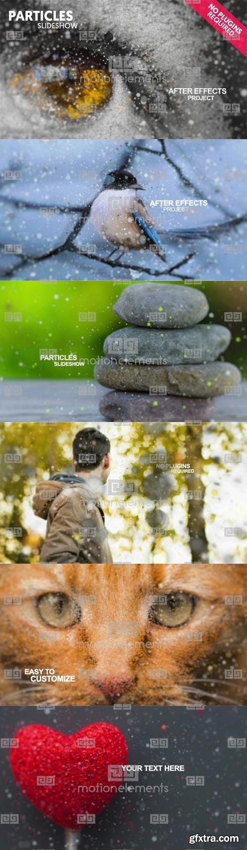MotionElements - Particles Slideshow - 9241038