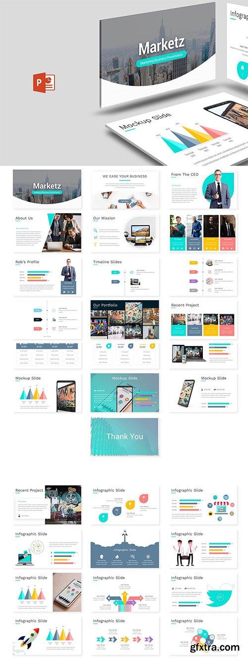 Marketz - Powerpoint,Keynote and Google Slides Template