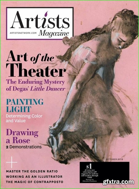 The Artist\'s Magazine - October 2018