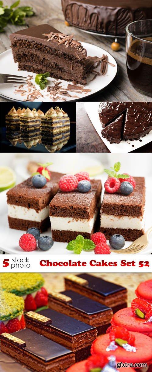 Photos - Chocolate Cakes Set 52