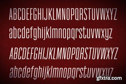 Newgate Family Font Family - 6 Fonts