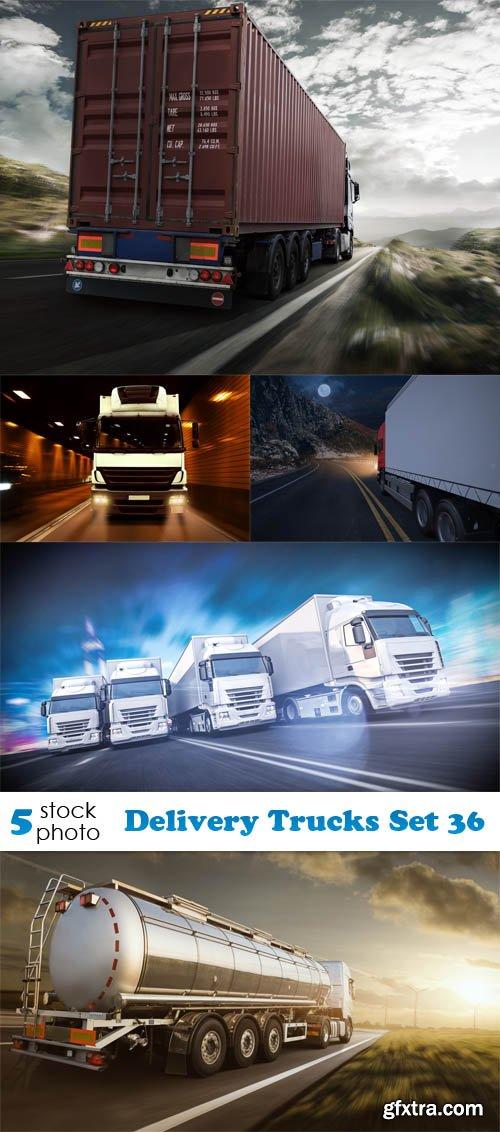 Photos - Delivery Trucks Set 36