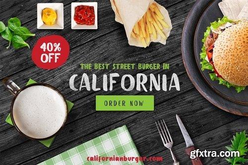 CM - Fresh Meat 4 Font Pack + Bonus2631192
