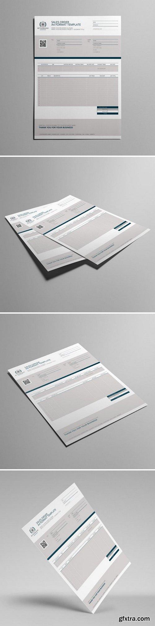 KeBoto - Sales Order A4 Format Template 000171