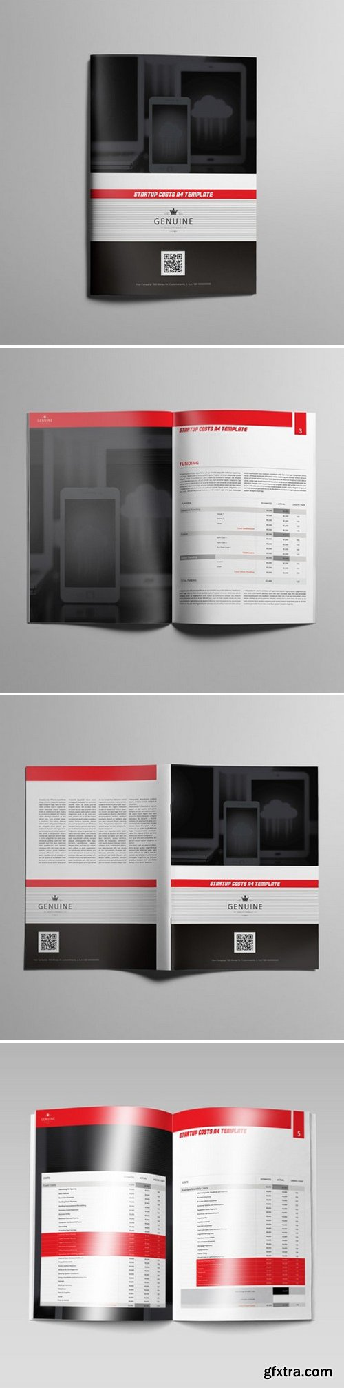 KeBoto - Startup Costs A4 Template 000175