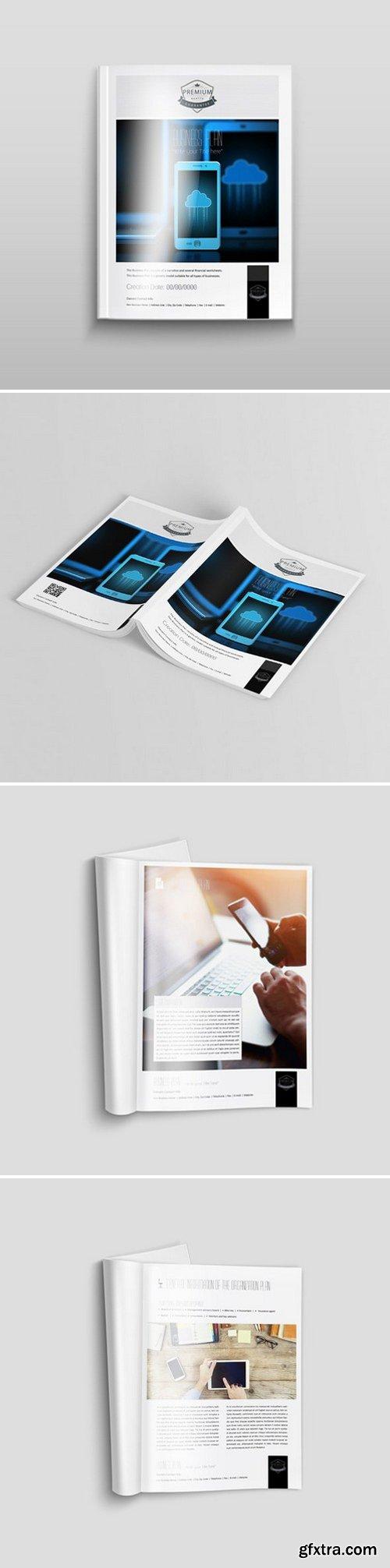 KeBoto - A4 Portrait Business Plan Template 000172