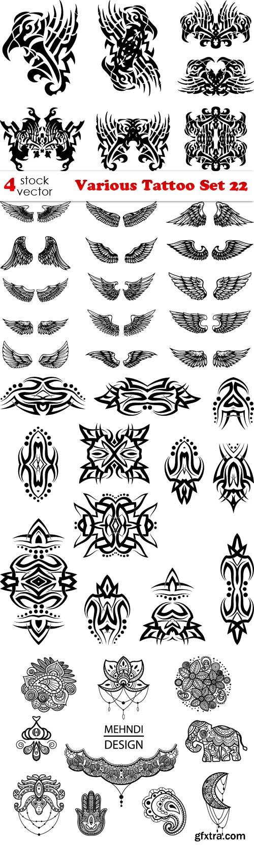 Vectors - Various Tattoo Set 22