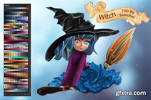 CreativeMarket - Witch Swatches 2873720