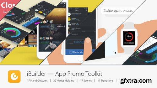 Videohive iBuilder — App Promo Toolkit 11589295