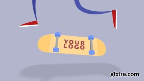 Pond5 - Skateboard Logo - 074125448