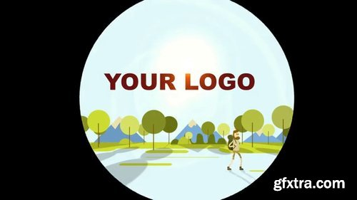 Pond5 - Hiking Logo Reveal - 074355657