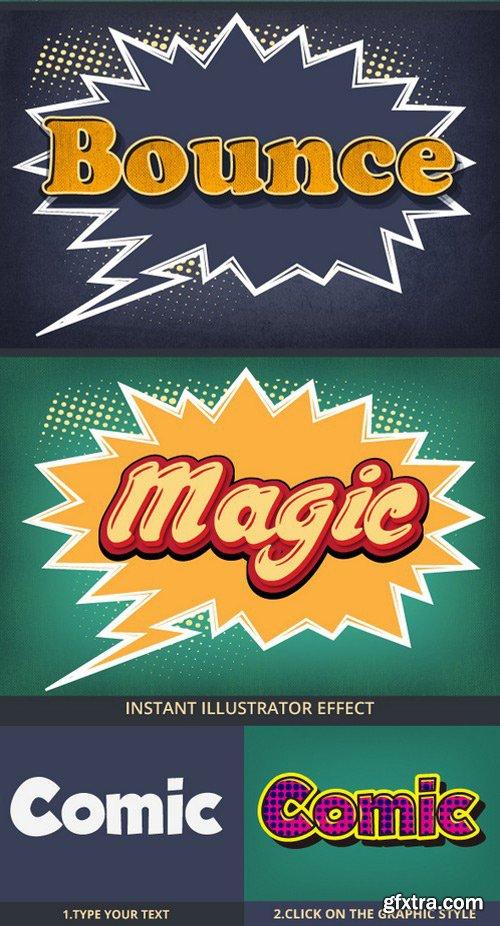 Graphicriver - 22256723 Comic Graphic Style For Illustrators