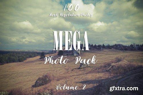 CreativeMarket 100 MEGA PHOTO PACK VOL.2 270596
