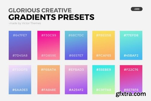 Glorious Creative Gradient Presets