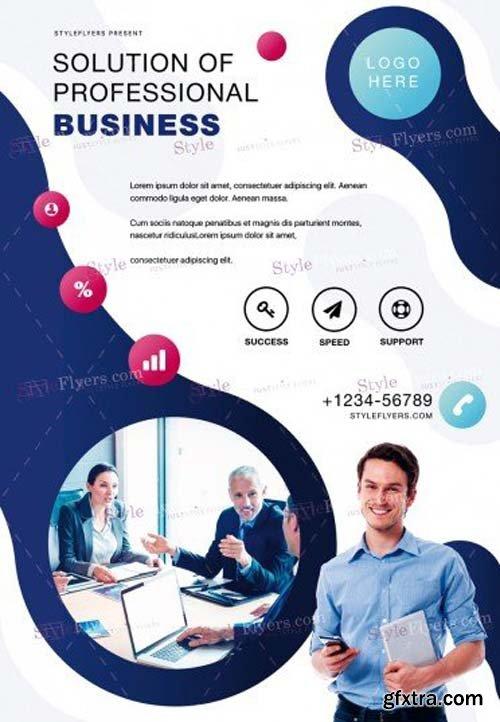 Corporate V44 2018 PSD Flyer Template