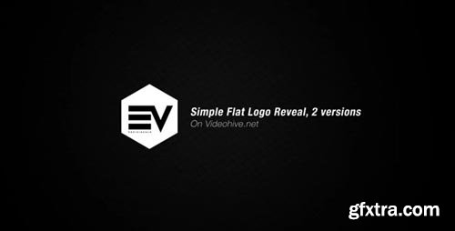 Videohive - Simple Flat Logo Reveal - 19759921