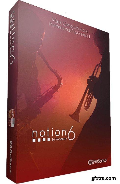 PreSonus Notion 6.7.489 (x64) Portable