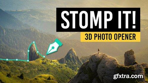 Videohive STOMP IT! - 3D Photo Opener 22184535