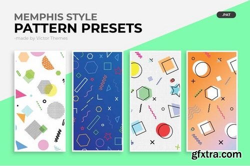 Memphis Style Pattern Presets
