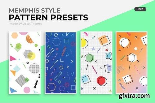 Memphis Style Pattern Presets