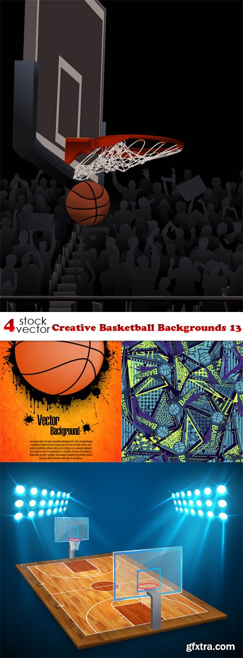 Vectors - Creative Basketball Backgrounds 13