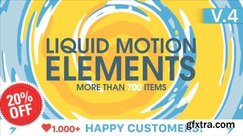 Videohive - Liquid Motion Elements V4 - 15789530