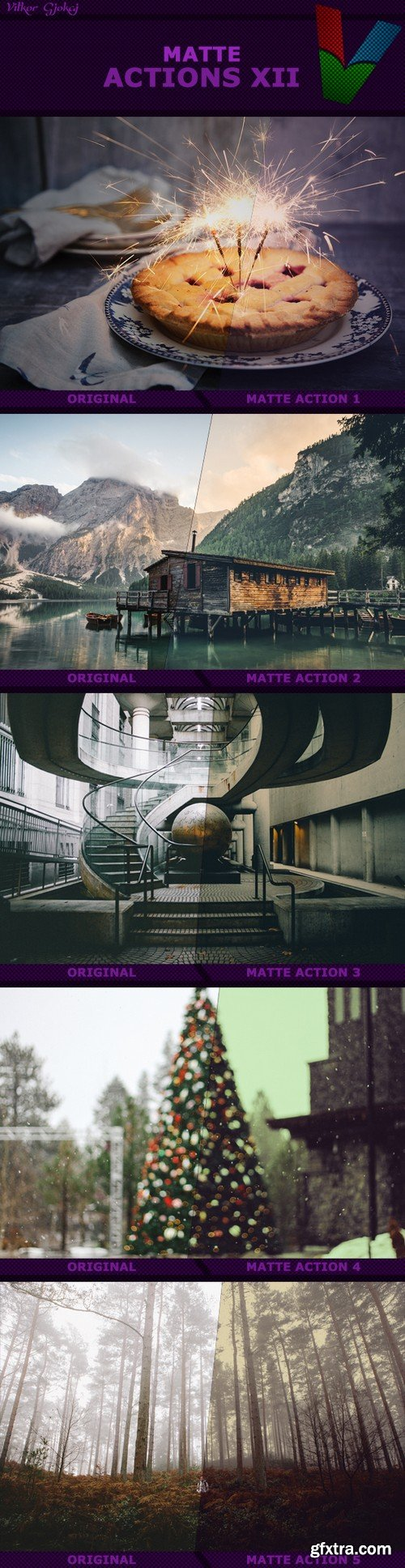 Graphicriver - Matte Actions XII 19213559