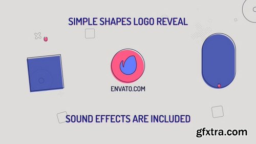 Videohive Simple Shapes Logo 21266274