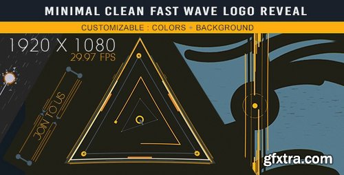 Videohive Minimal Clean Fast Wave Logo Reveal 17568824