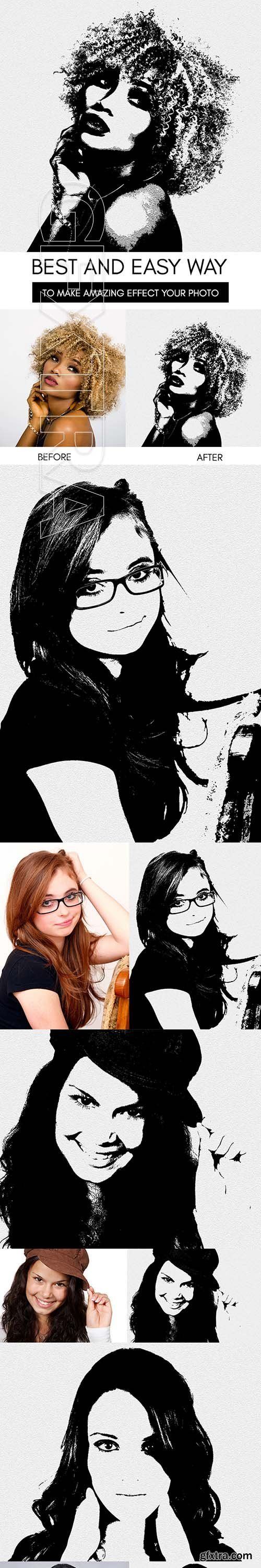 GraphicRiver - Note Paper Sketch Photoshop Action 22423821