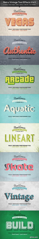 GraphicRiver - Retro Vintage Text Effects Vol.1 22497877