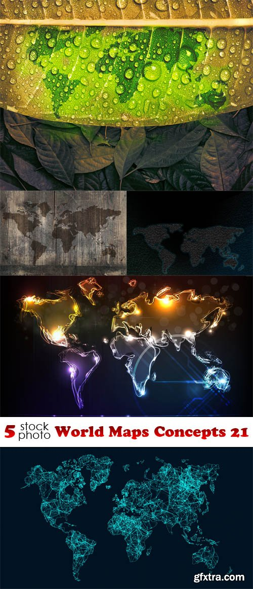 Photos - World Maps Concepts 21