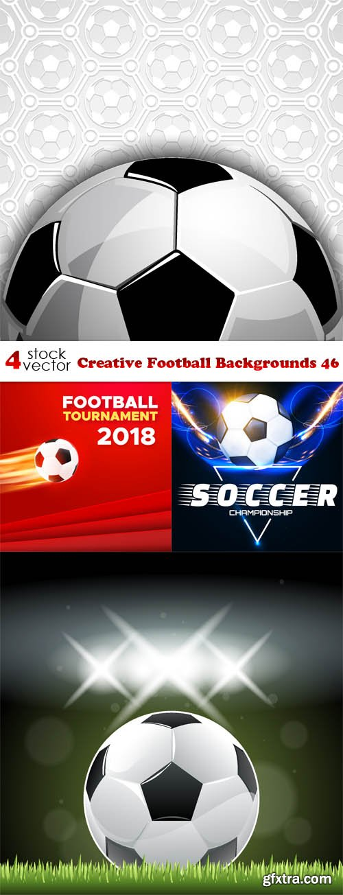 Vectors - Creative Football Backgrounds 46